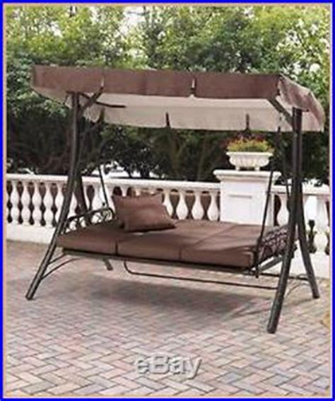 porch swing outdoor patio converting hammock seats 3