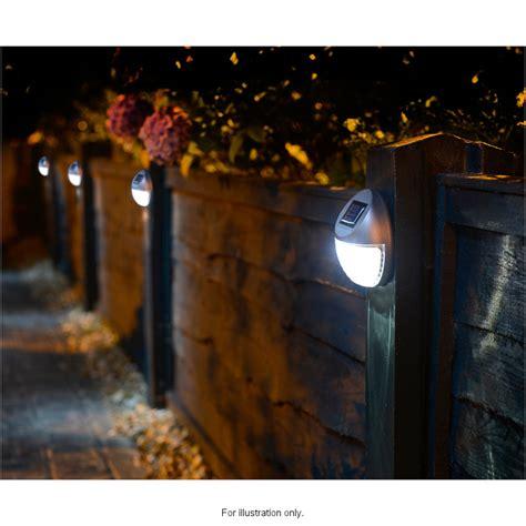 Solar Powered Fence Light  Garden & Outdoor Solar Lights