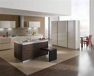Brown Kitchens - Creates a subtle and warm atmosphere