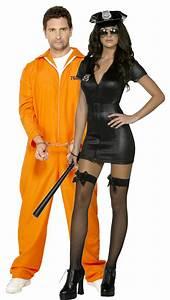 Dguisement Couple Policire Sexy Et Son Prisonnier