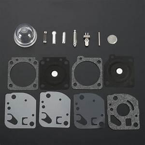Carburetor Rebuild Gaskets Kit For Zama Carbs Ryobi Ryan
