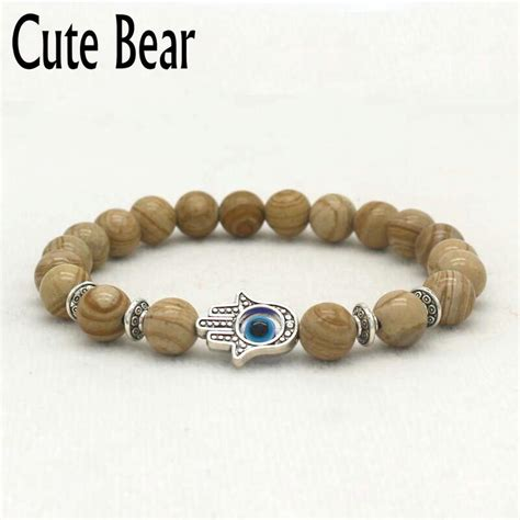 Aliexpresscom  Buy Cute Bear Brand Natural Stone Beaded