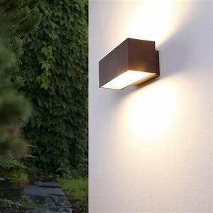 Fassadenbeleuchtung Außen Led : aussenwandleuchte wandlampe au en lampen leuchten beleuchtung design neu ~ Markanthonyermac.com Haus und Dekorationen