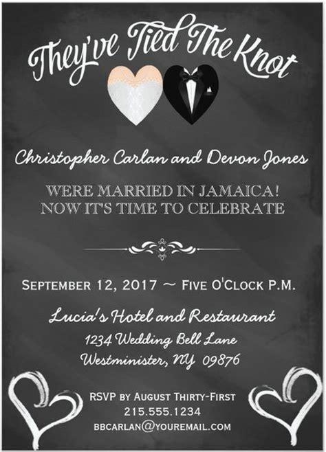 post wedding reception invitations 21 beautiful at home wedding reception invitations destination wedding details