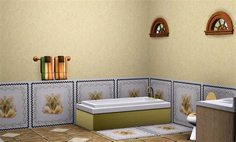 create a pattern wallpaper borders simswiki