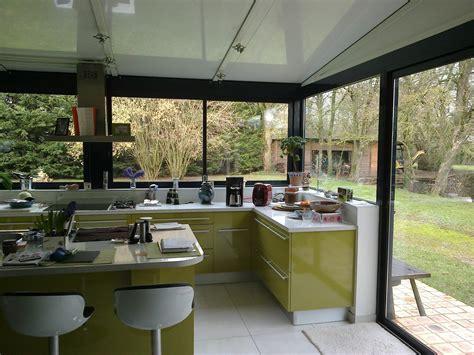 extension cuisine veranda cuisine dans une véranda extension maison