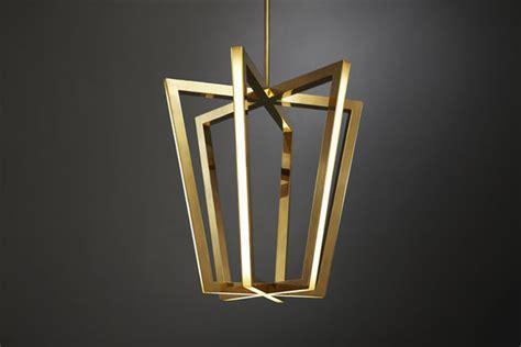geometric led ls asterix pendant light