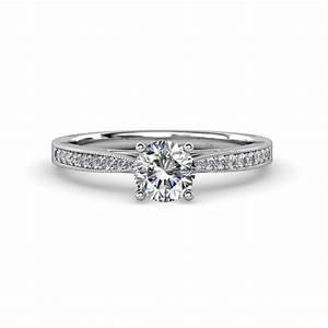 Aleen diamond engagement ring diamond engagement ring for Work wedding rings
