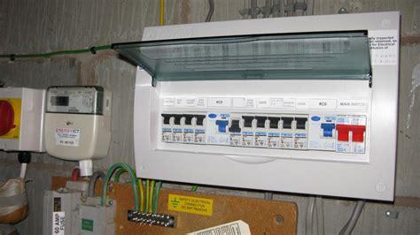 installing  consumer unit instructions  wiring