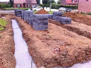 Fondation Mur Parpaing : ma onnerie des parpaings sur semelles de fondation ~ Premium-room.com Idées de Décoration