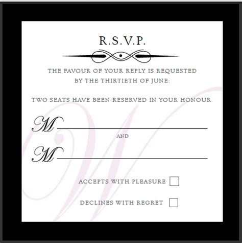 wedding rsvp wording rhodeshia 39 s wording for an only reception can be tricky especially if family