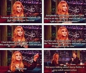 Harry potter blonde girl