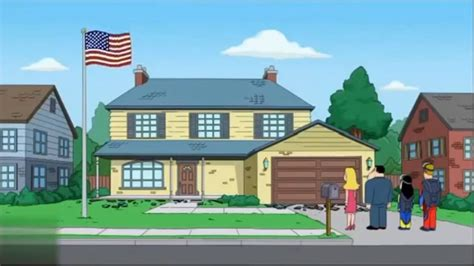 American Dad Funny Moment House Drops On Steve
