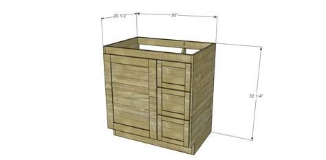 diy woodworking plans  build  custom bath vanity