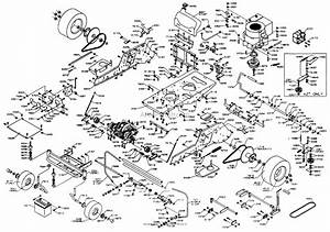 Dixon Ztr 3014  2000  Parts Diagram For Chassis