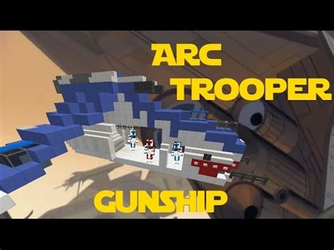 arc trooper gunship swtcw vol  minecraft tigershark