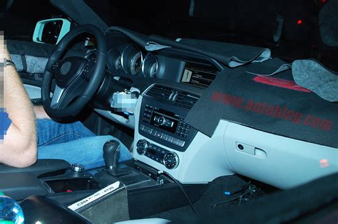 C 300 sport c 300 sport sedan. Spy Shots: 2011 Mercedes-Benz C-Class coupe shows off its insides - AutoDepot
