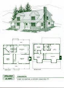 log cabin home plans log home package kits log cabin kits cimarron model