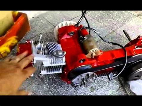 gy racing scooter motor youtube