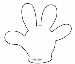 Best 25 mickey mouse gloves ideas on pinterest fiesta for Free mickey mouse hand template