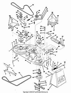 Poulan Pp18h44ja Tractor Parts Diagram For Mower