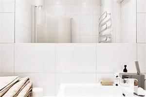 salle de bain carrelage salle de bain blanc moderne With salle de bain carrelage blanc