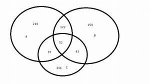 Probability - 3 - Venn Diagram Question