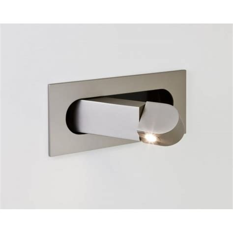 astro 7165 digit 1 light led adjustable wall light matt