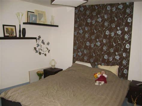 papier chambre adulte chambre emilie3004 avant photo 1 4 tete de lit en