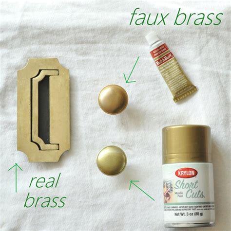 brass hardware polishing  faking  centsational style