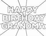 Coloring Birthday Happy Printable Grandpa Grandma Card Cards Paper Trail Nana Sheet Sheets Dad Splendi Mom Papertraildesign Madea Gay Tilly sketch template