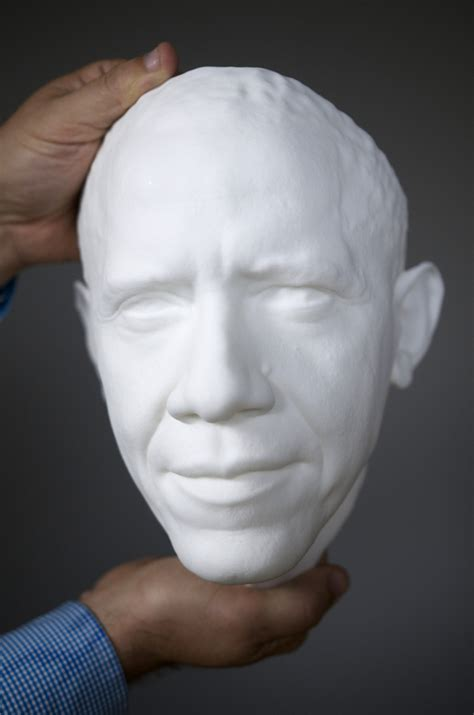 smithsonian creates   portrait  obama daily