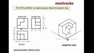 Engineering Drawing -isometric Projections