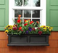 flower boxes for windows 37 Gorgeous Window Flower Boxes (with Pictures)