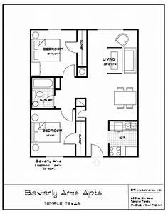 2 Bedroom Bath Apartment Floor Plans - Latest