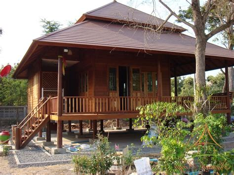 desain rumah kayu minimalis modern gambar desain rumah