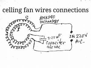 Celling Fan Coil Winding Circuit Diagram