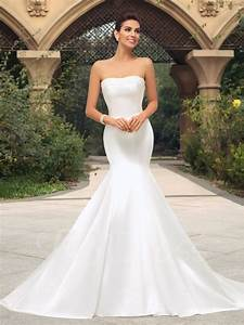 35 inspirational ideas of simple wedding dresses the With trumpet dress wedding