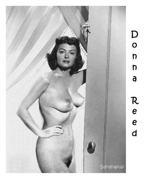 In Gallery Donna Reed Fakes Picture Uploaded