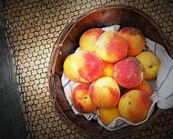 Fresh Fruit Peaches