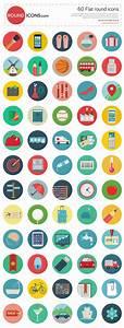 60 Stylish Round Icons