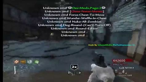 Mastermodz V11 Usb Mod Menu Cod Waw Xbox 360 (february