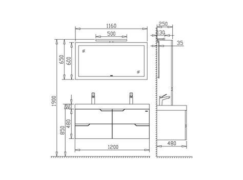Badezimmermöbel Maße by Badm 246 Bel G 228 Ste Wc Waschbecken Waschtisch Spiegel Antonella
