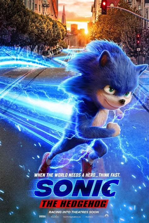 movies sonic hedgehog coming paramount films theater