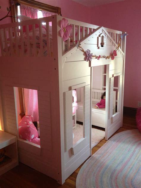 Pottery Barn Loft by Pottery Barn Playhouse Loft Bed Ebay