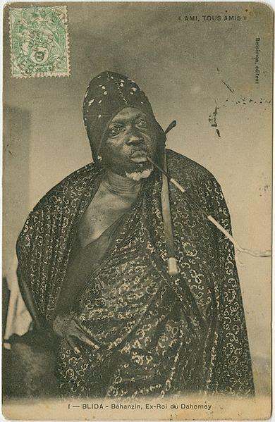 fileblida algeria behanzin  king  dahomey