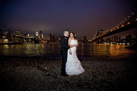 wedding photographers nyc bridge park wedding photography bridge
