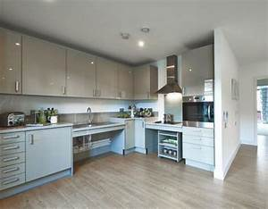a great idea for a layout of a kitchen for wheelchair With kitchen design for wheelchair user