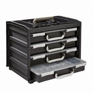 Casier A Tiroir : casier de rangement racco 4 tiroirs castorama ~ Teatrodelosmanantiales.com Idées de Décoration