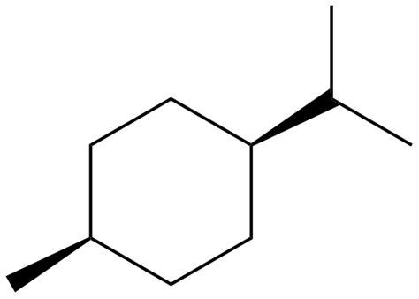 cis 1 methyl 4 1 methylethyl cyclohexane critically